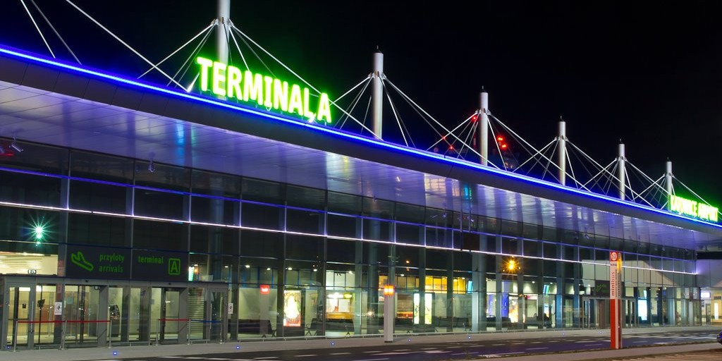 Katowice airport terminal A