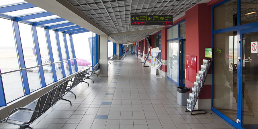 Observation deck - Katowice Airport